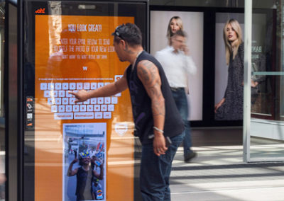 Interactive Touchscreen signage