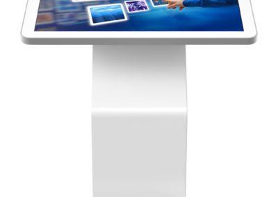 Multimedia touchscreen kiosk